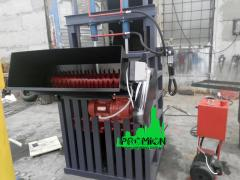 16 Ton PET Bottle Press with Hole Punch
