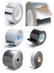 Adhesive tape mounting. Foil adhesive. Insulation
