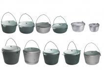 Aluminum fishing pots
