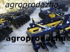 Disk harrow(AG) and AGD 2.1, (AGD)-2.5 AG, (AG) and AGD 2.5 N unit