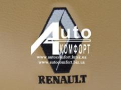 Embroidery car logo Renault