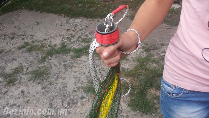 кастинговая сеть из сетеполотна своими руками