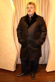 Large size men's sheepskin coats