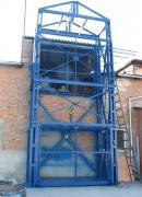 Лифт грузовой складской шахтный, грузовой подъёмник для склада