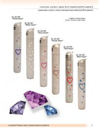 Lighters with Swarovski from Elenpipe