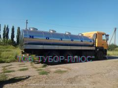Manufacturer ribolov, water carriers, milk tankers