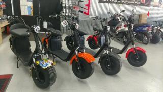 На продаж Електричний моторолер citycoco 3000W двигун з акумулятором 20ah