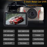 "OnCam T611 CAR DVR 3.0 "" VIDEO CAMERA"