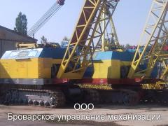 Оренда гусеничних кранів Київ по Україні