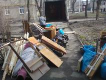 Removal of old furniture in Donetsk