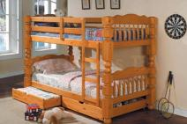Sale bed of wood from the manufacturer