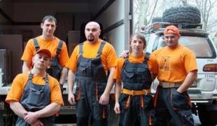 Service movers (movers) in Kiev and Ukraine