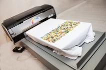 Textile printer for direct printing