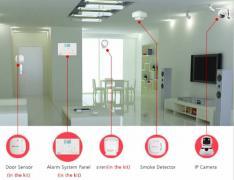 Установка охранной сигнализации в квартире, офисе, магазине