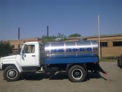Виготовлення та ремонт автоцистерн, водовозів, молоковозів